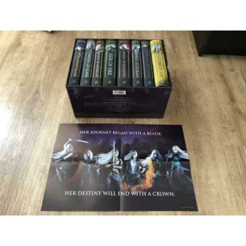 Throne of glass boxset engels hardcover young adult fantasy