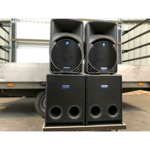 Mackie actieve speakerset