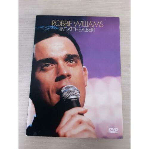 Robbie Williams Live In The Albert