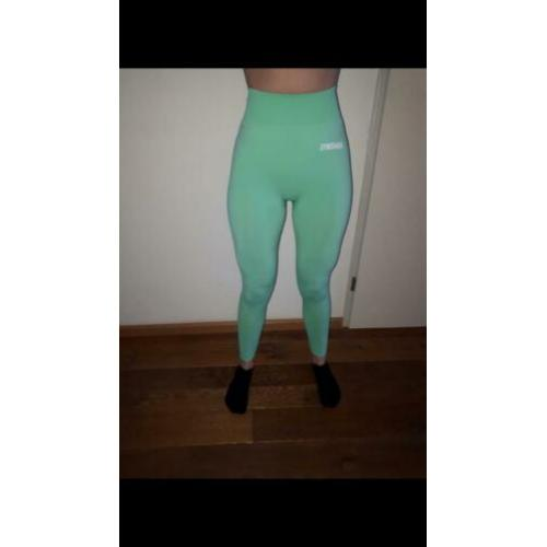Gymshark Lightweight Seamless legging - lightgreen