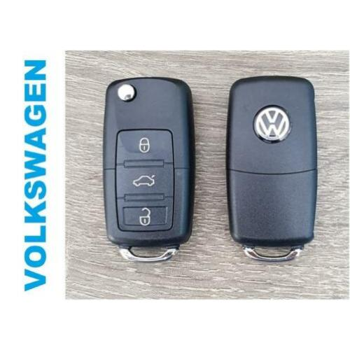 VW auto sleutel Bora Beetle Caddy Jetta Golf Up Polo Passat