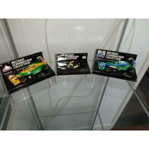 Michael Schumacher collection Minichamps