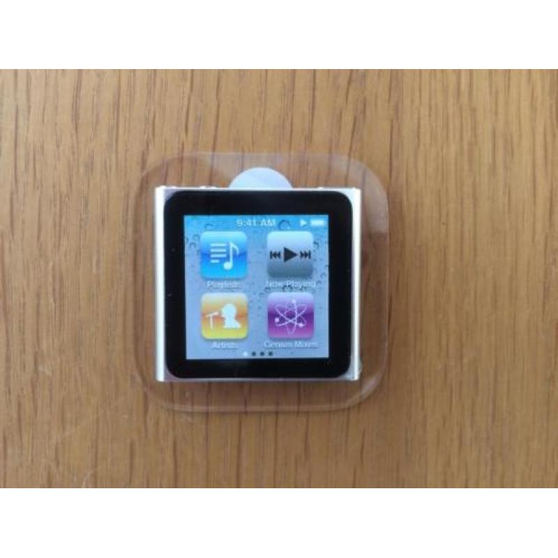 Ipod nano 16 GB zilver